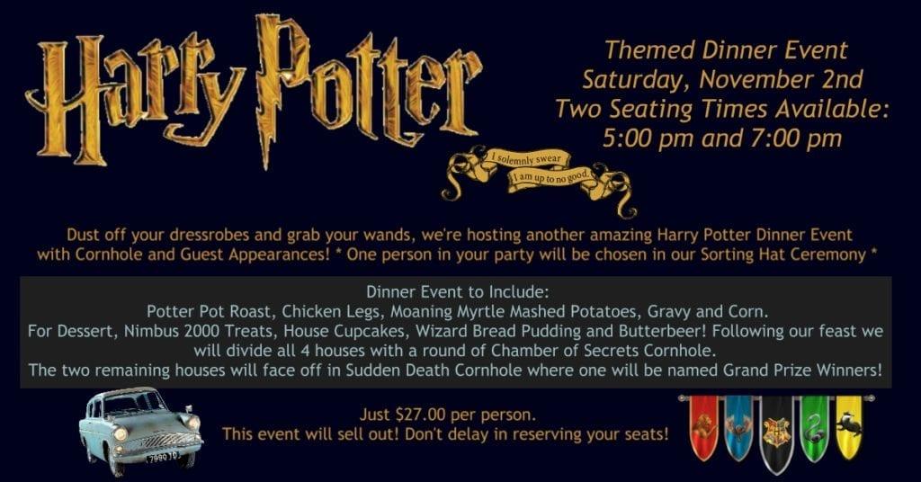 Harry Potter Themed Dinner